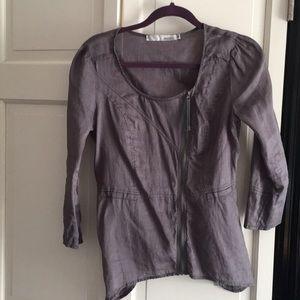 Miilla grey shirt/jacket